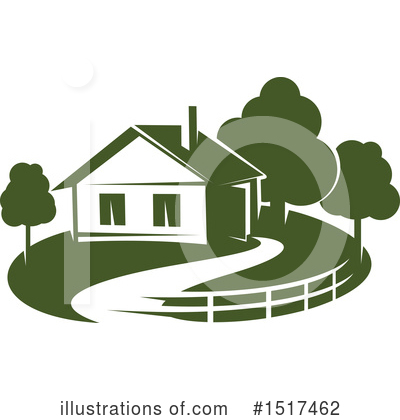 House Clipart #1517462 by Vector Tradition SM
