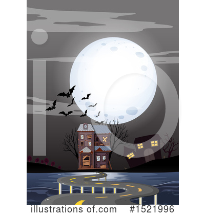 Haunted House Clipart #1521996 by Graphics RF