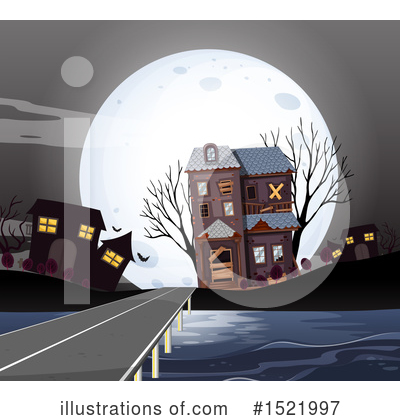 Haunted House Clipart #1521997 by Graphics RF