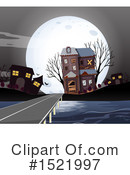 Royalty-Free (RF) House Clipart Illustration #1521997