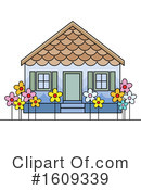 House Clipart #1609339 by Lal Perera