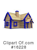 Royalty-Free (RF) House Clipart Illustration #16228