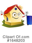 House Clipart #1648203 by Morphart Creations