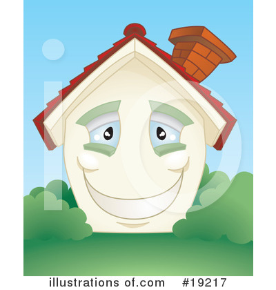 Royalty-Free (RF) House Clipart Illustration by AtStockIllustration - Stock Sample #19217