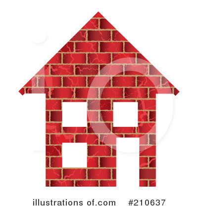 brick house clipart. House Clipart #210637 by