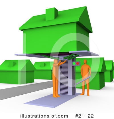 House Clipart #21122 by 3poD