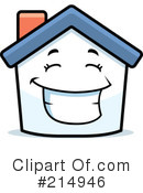 Royalty-Free (RF) House Clipart Illustration #214946