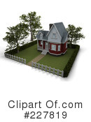 Royalty-Free (RF) house Clipart Illustration #227819