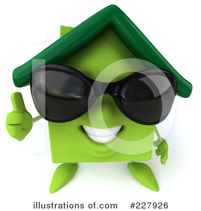Green House Clipart #227926 by Julos