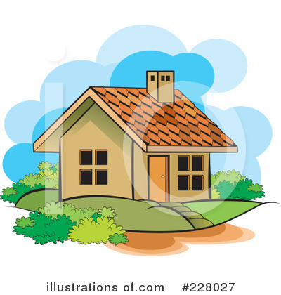 House Clipart #228027 by Lal Perera
