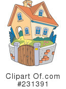 House Clipart #231391 by visekart