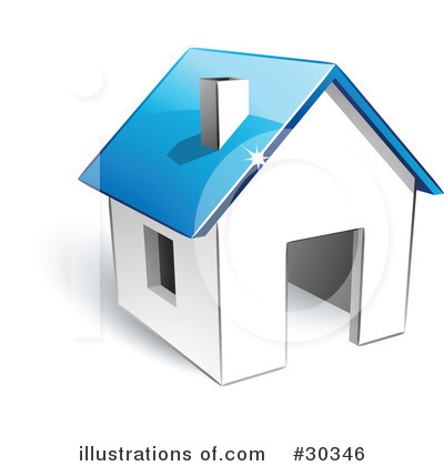 House Clipart #30346 by beboy