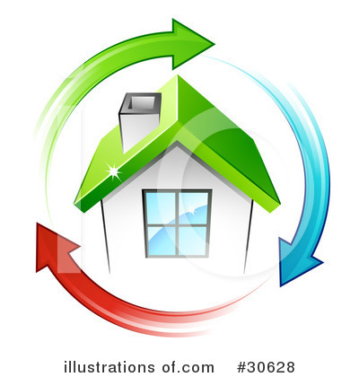 House Clipart #30628 by beboy
