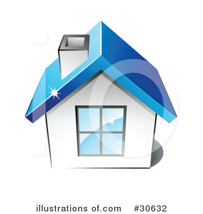 House Clipart #30632 by beboy