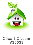 Royalty-Free (RF) House Clipart Illustration #30633
