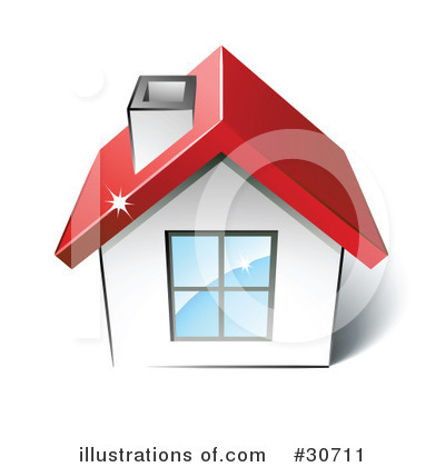 House Clipart #30711 by beboy