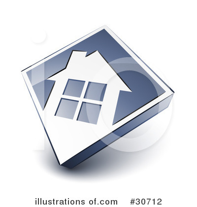 House Clipart #30712 by beboy