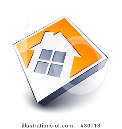 House Clipart #30713 by beboy