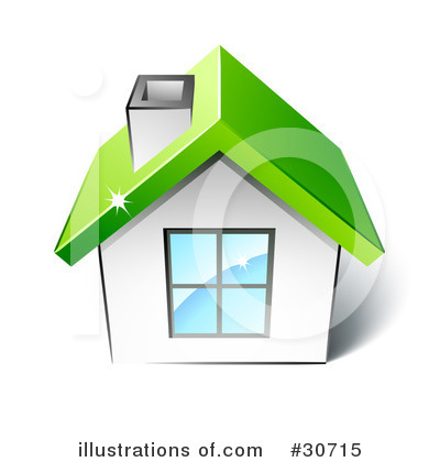 House Clipart #30715 by beboy