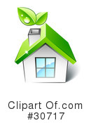 Royalty-Free (RF) House Clipart Illustration #30717