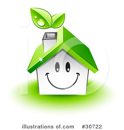 Royalty-Free (RF) House Clipart Illustration by beboy - Stock Sample #30722