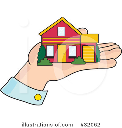 House Clipart #32062 by Maria Bell