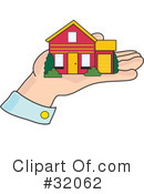 Royalty-Free (RF) House Clipart Illustration #32062