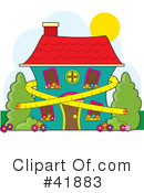 House Clipart #41883 by Maria Bell