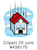 Royalty-Free (RF) House Clipart Illustration #438170