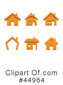 House Clipart #44964 by Jiri Moucka