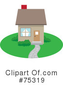 Royalty-Free (RF) house Clipart Illustration #75319