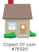 Royalty-Free (RF) House Clipart Illustration #75320