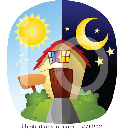 Unique House Clipart #76202 by BNP Design Studio