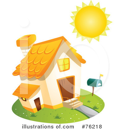 Unique House Clipart #76218 by BNP Design Studio
