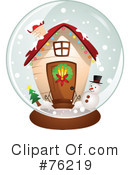 Royalty-Free (RF) House Clipart Illustration #76219