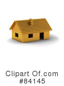 Royalty-Free (RF) House Clipart Illustration #84145