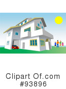 House Clipart #93896 by toonster