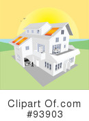 Royalty-Free (RF) House Clipart Illustration #93903