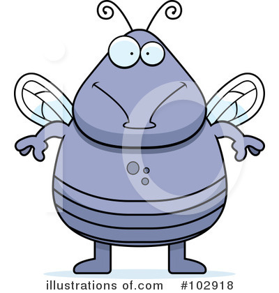 House Fly Clipart #102918 by Cory Thoman