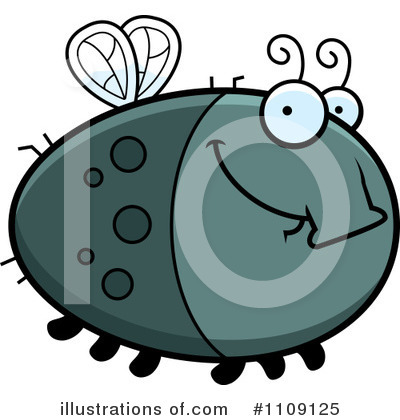 House Fly Clipart #1109125 by Cory Thoman