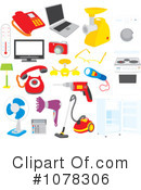 Household Clipart #1078306 by Alex Bannykh