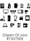 Royalty-Free (RF) Household Clipart Illustration #1337926