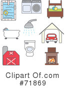 Household Clipart #71869 by inkgraphics