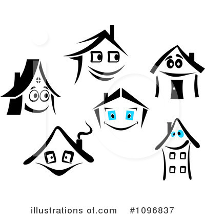 House Clipart #1096837 by Vector Tradition SM
