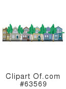 Houses Clipart #63569