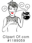Housewife Clipart #1189059 by Andy Nortnik