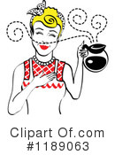 Housewife Clipart #1189063 by Andy Nortnik