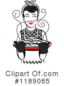 Housewife Clipart #1189065 by Andy Nortnik