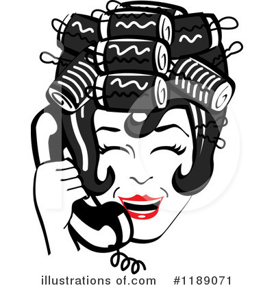 Housewife Clipart #1189071 by Andy Nortnik