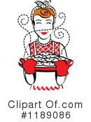 Housewife Clipart #1189086 by Andy Nortnik